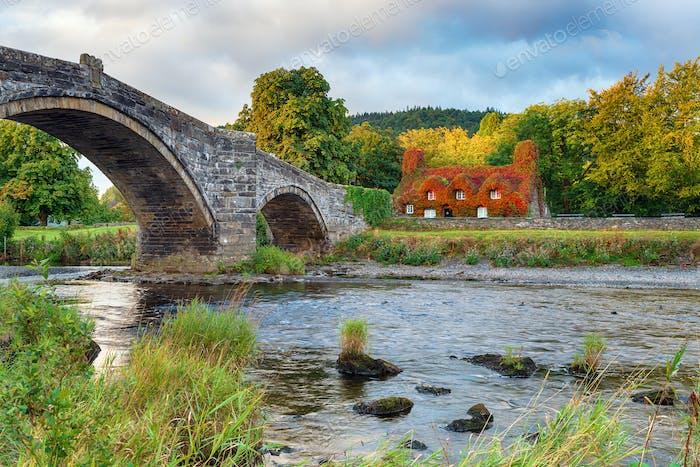 Llanrwst Bridge in North Wales