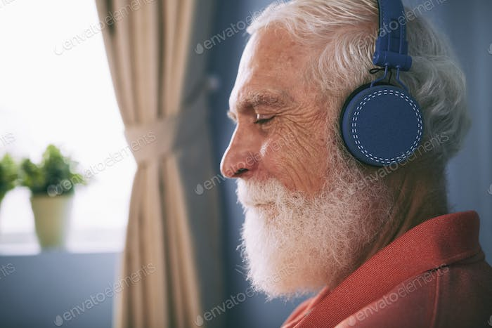 Senior music lover