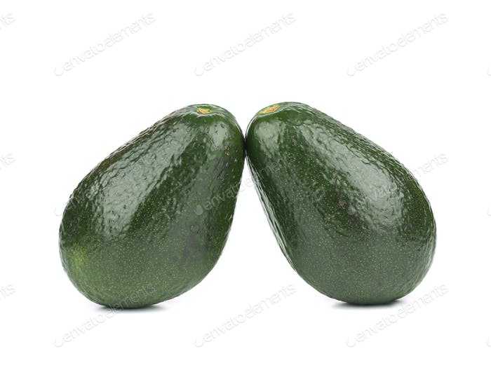 Two avocado.