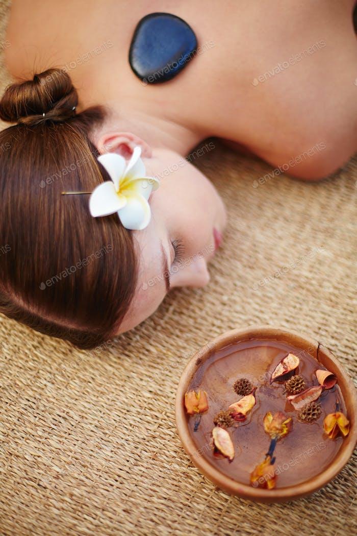 Pleasure of spa