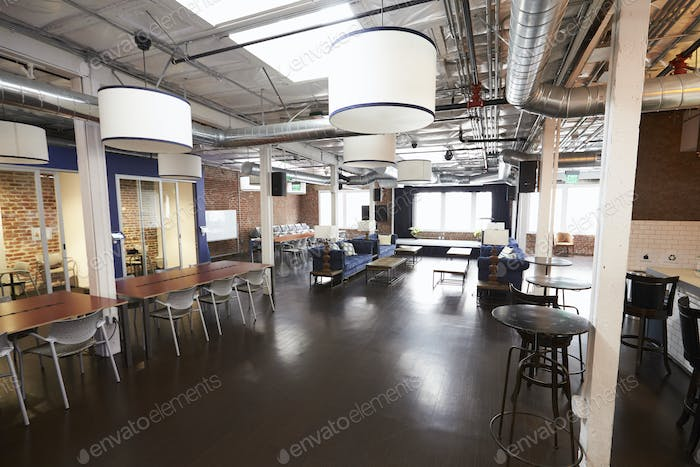 Interior Of Modern Design Office With No People