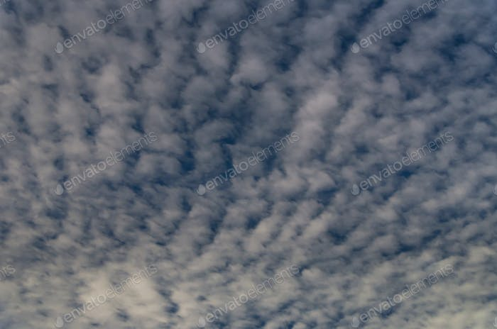 Night sky with clouds background