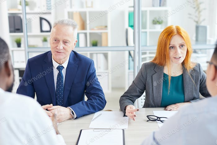 Interviewing Candidates in Office