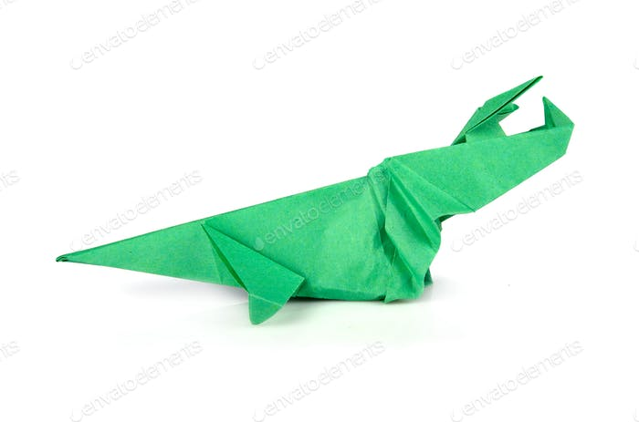 Origami-Dinosaurier