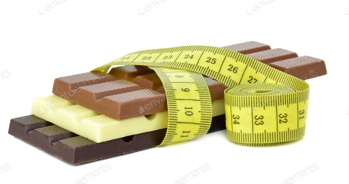 Chocolate Bars and Measuring Tape