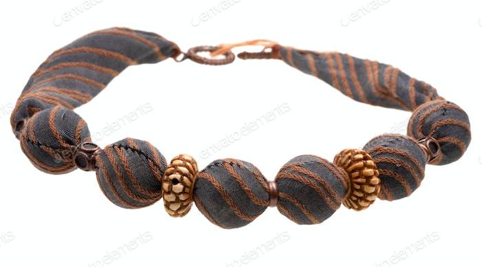 textile lady's bead