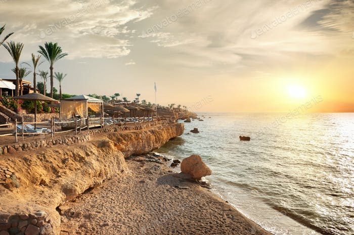 Strand in Ägypten