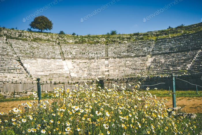 Dodoni ancient theater, Ioannina, Greece