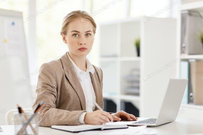 Konzentration auf die Arbeit