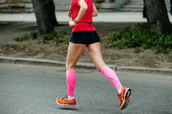 Frau Beine Athlet