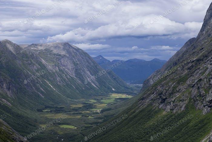 View from Trollstigen