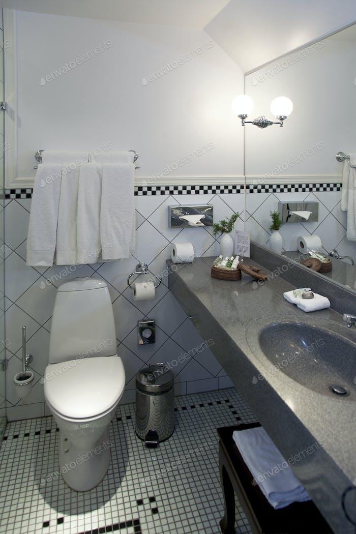 Bathroom at the Pädaste Manor