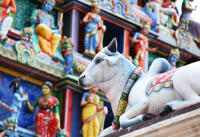 Индуистская статуя