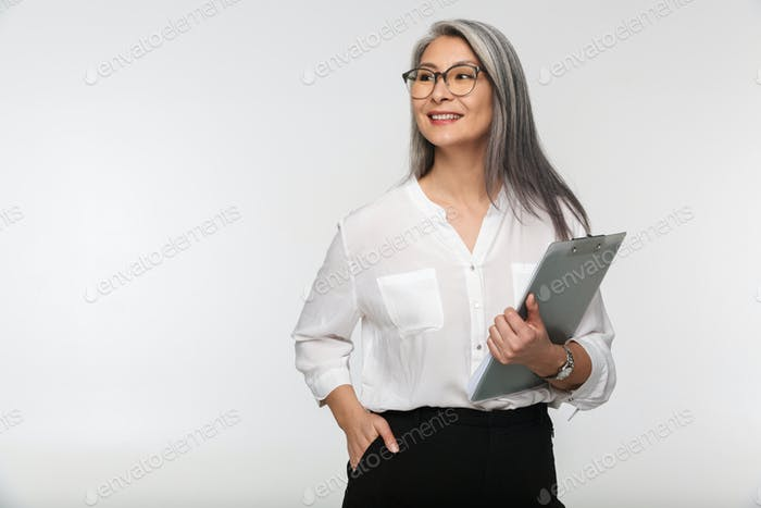 Portrait of an attractive mature businesswoman