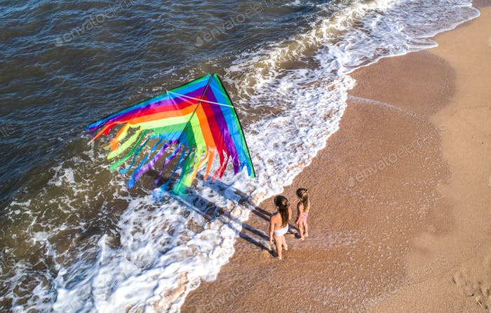 Kite games with a kite