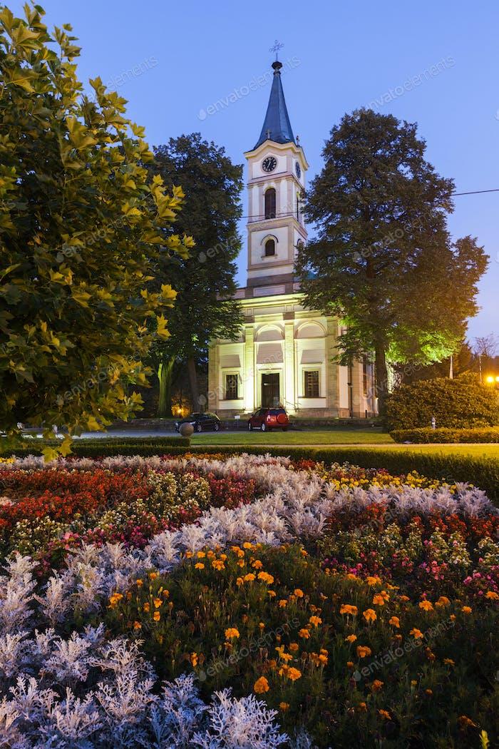 Evangelical Church in Wisla, Poland
