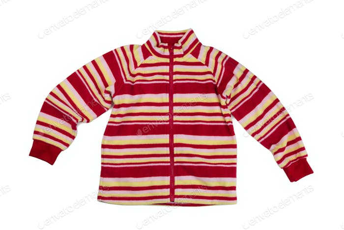 Children fleece sweatshirt