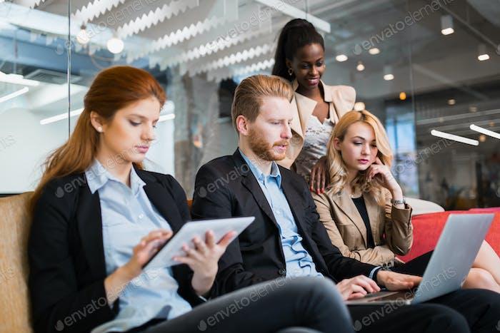 Разговор деловых людей. Технологии под рукой