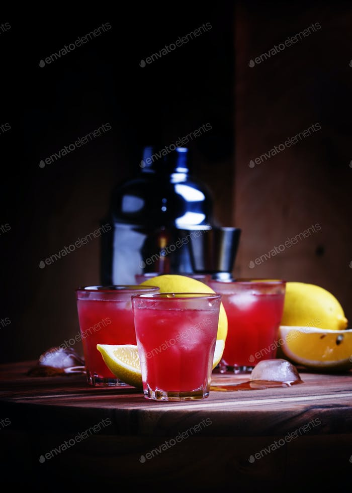 Watermelon, lemon drink