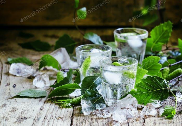 Kalter russischer Wodka