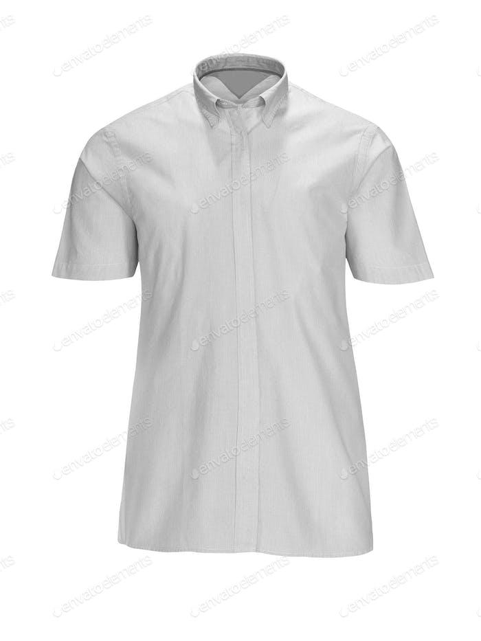 new white man's shirt