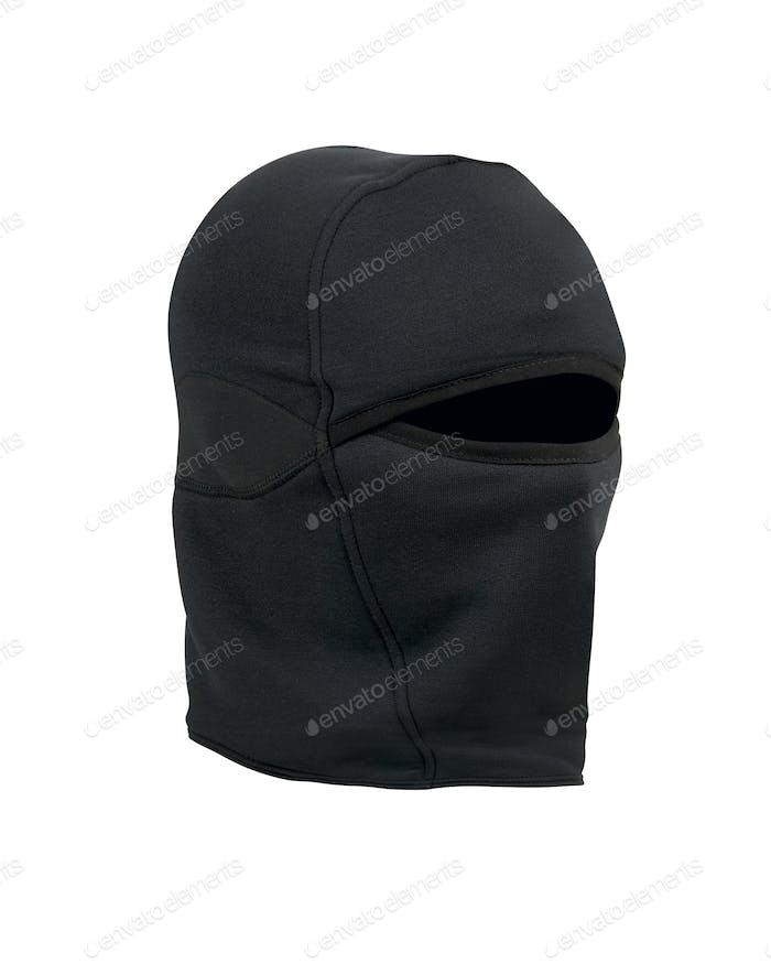 A Black ski mask