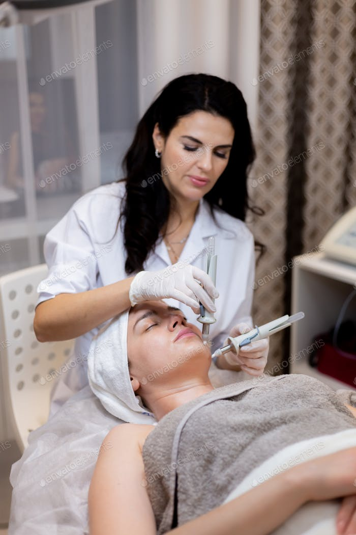 Beauty Kosmetologie Konzept