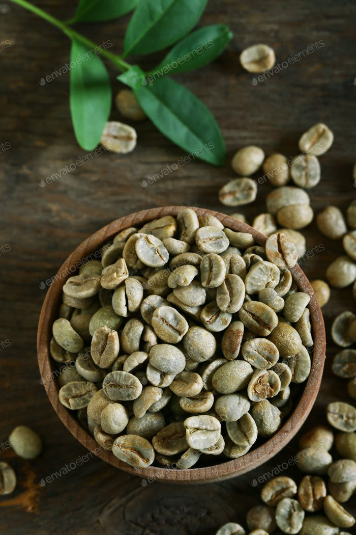 Green Coffee Grains
