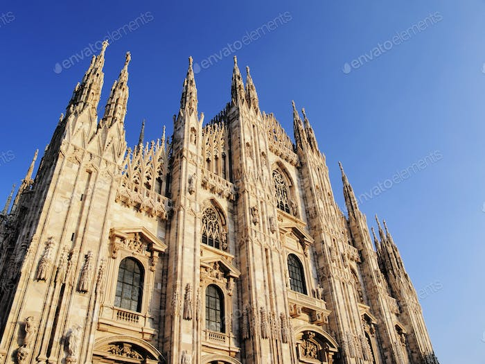 Cathedral in Milan, Lombardy, Italy