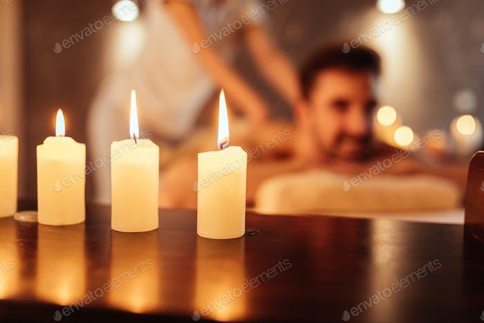 Terapia a la luz de las velas