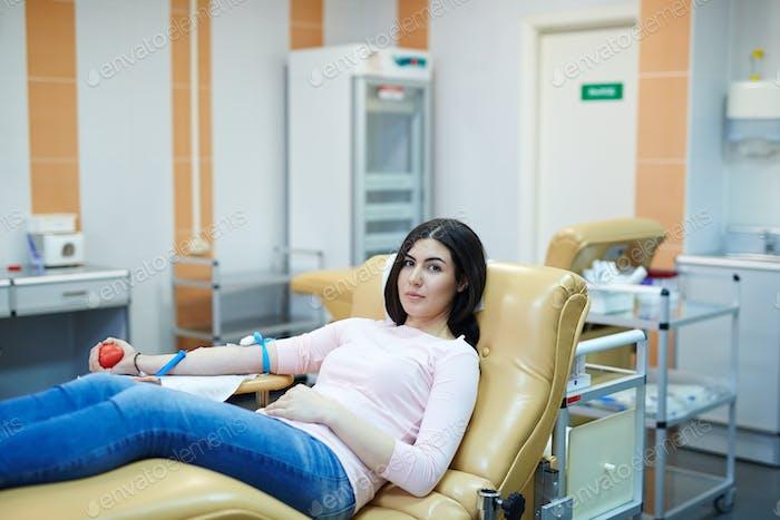 Hemotransfusions-Spender