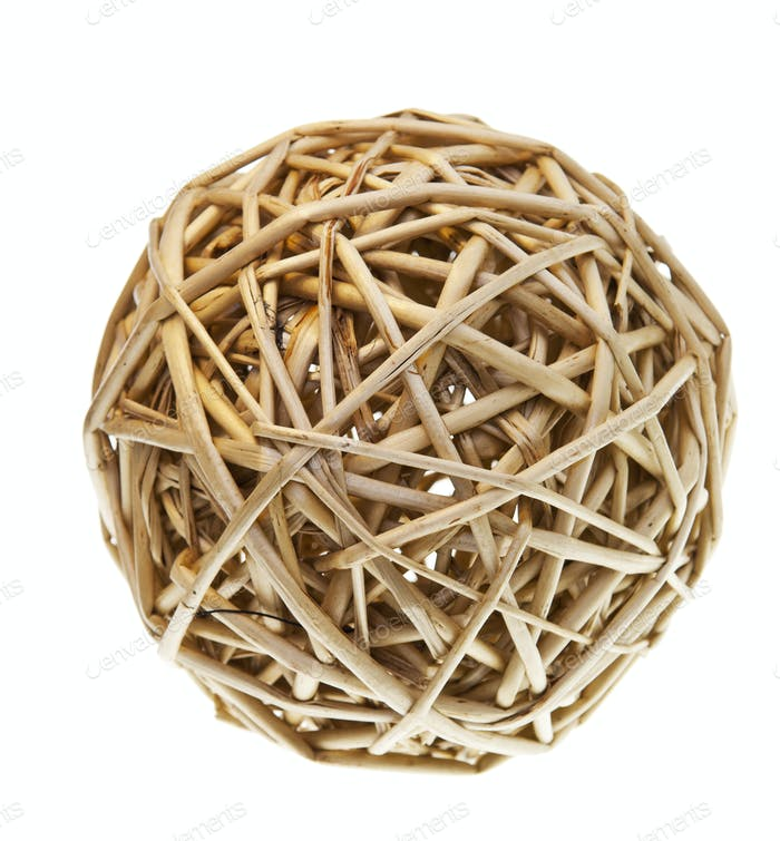 Woven Wicker Balls