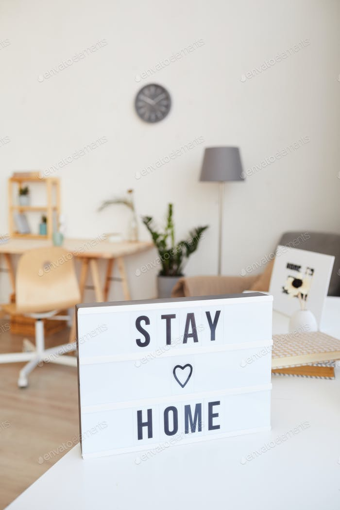 Stay at your home