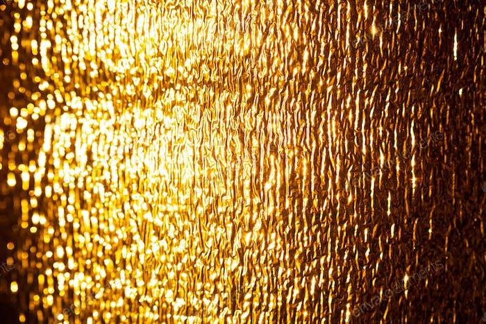 Gold Textured Image Background. Shiny, Golden Surface.