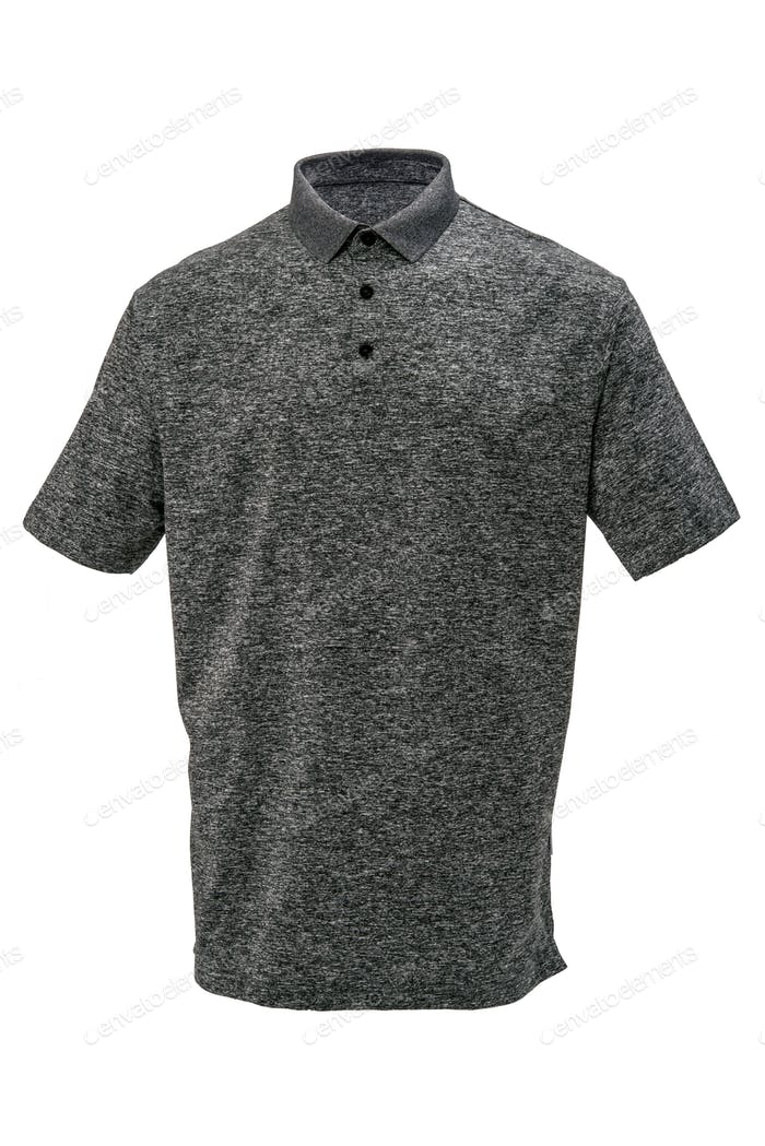 Golf grey and white tee shirt for man or woman