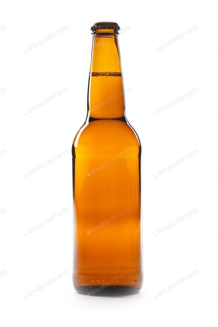 Braune Flasche Bier