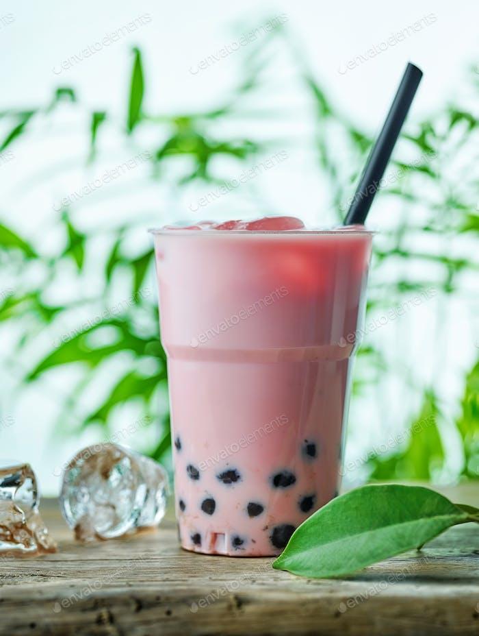 iced bubble tea