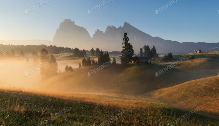 Schöner Tag in den Dolomiten