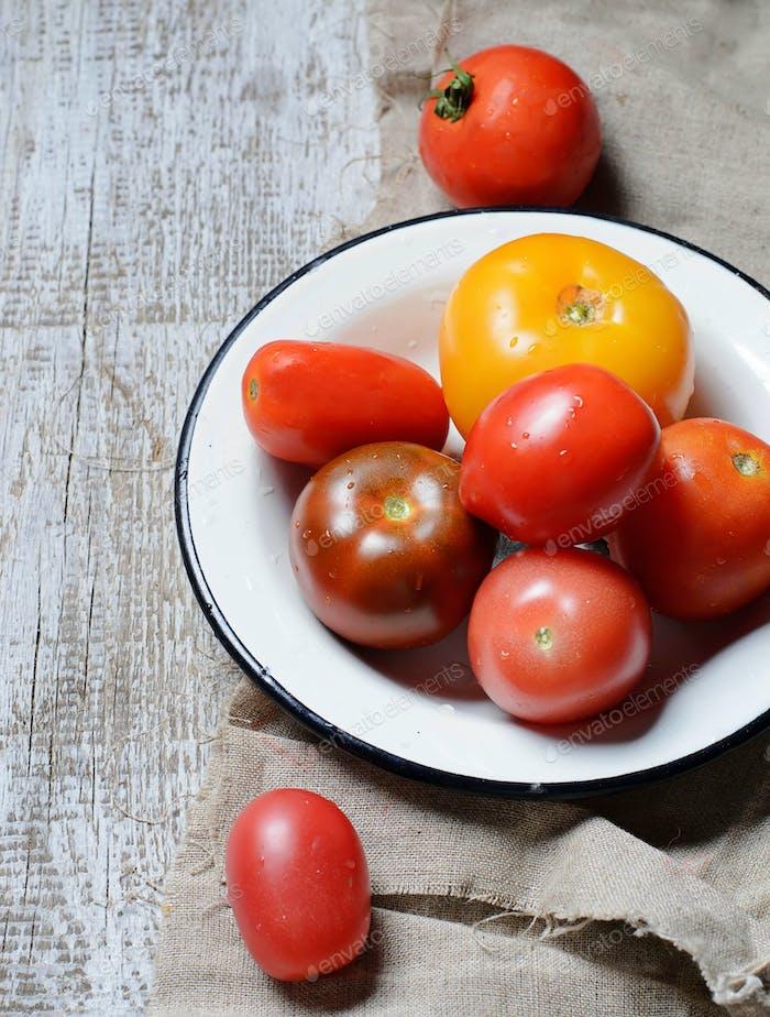 Verschiedene Arten von Tomaten
