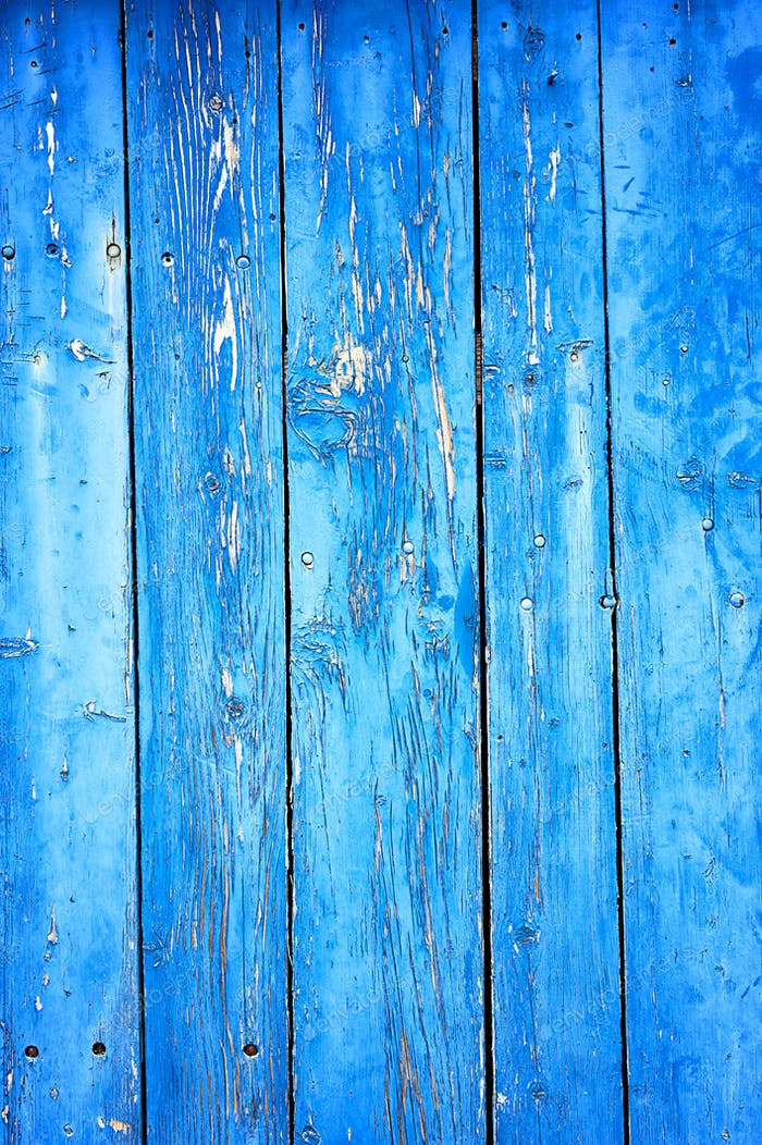 Thumbnail for Old Rusty Blue Wooden Background