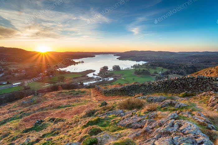 Loughrigg Fell in the Lake District