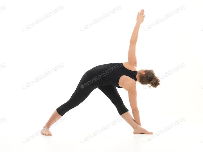 schwierige Yoga-Pose für Anfänger