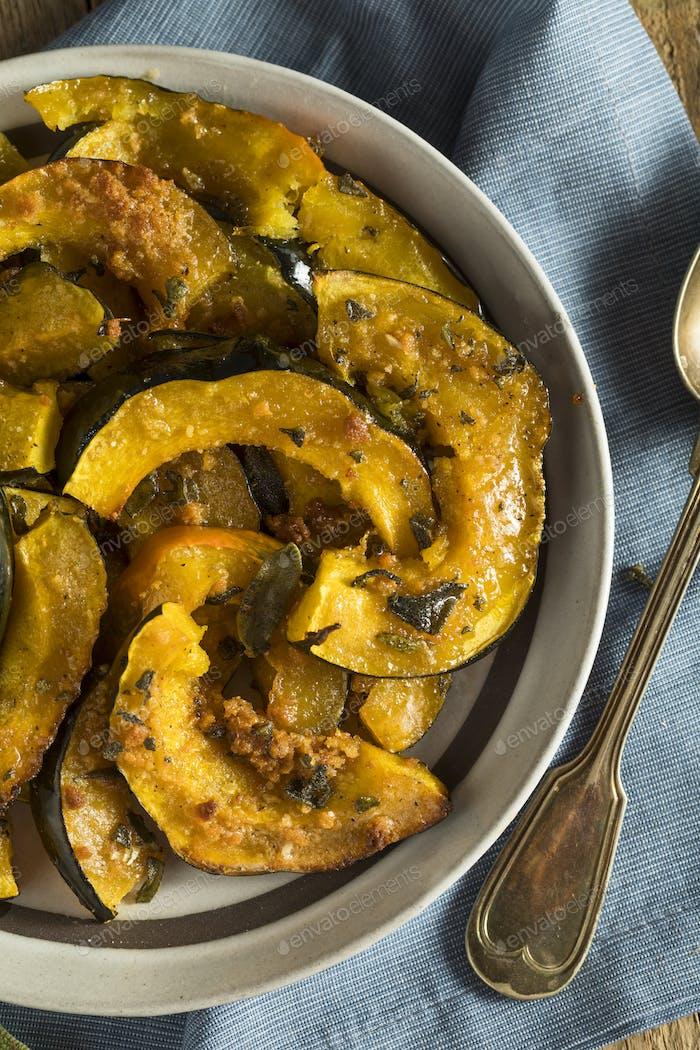 Homemade Autumn Baked Acorn Squash