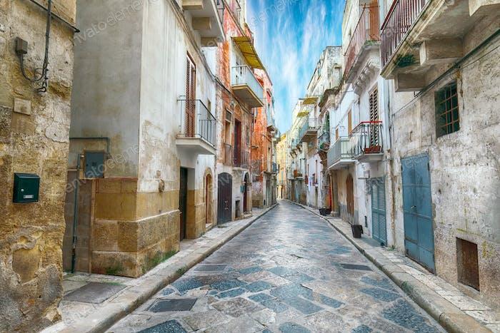 The historic center of a Gravina in Puglia