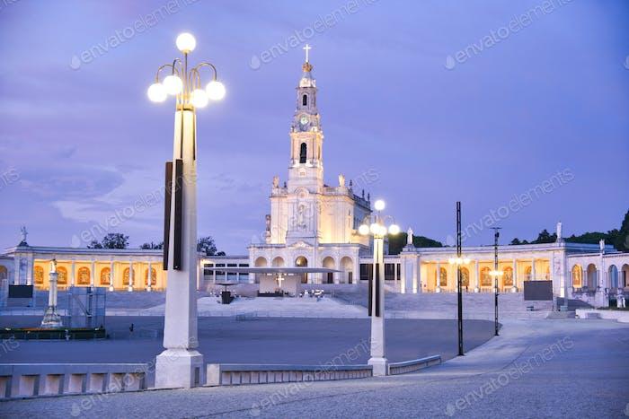 The Fatima Sanctuary In Portugal