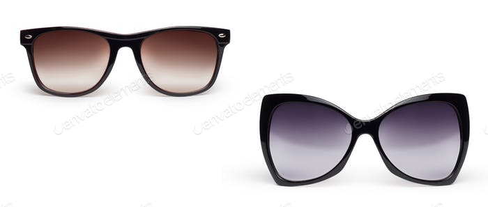 Fashion Sun glasses isolated