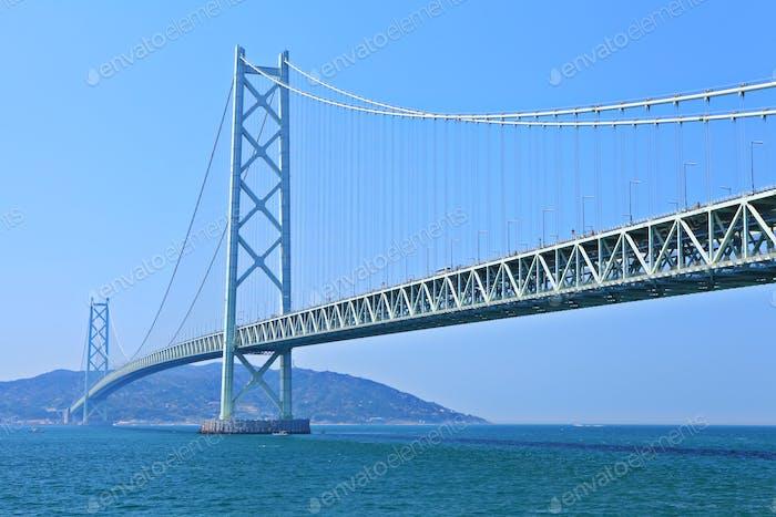 Hängebrücke in Kobe