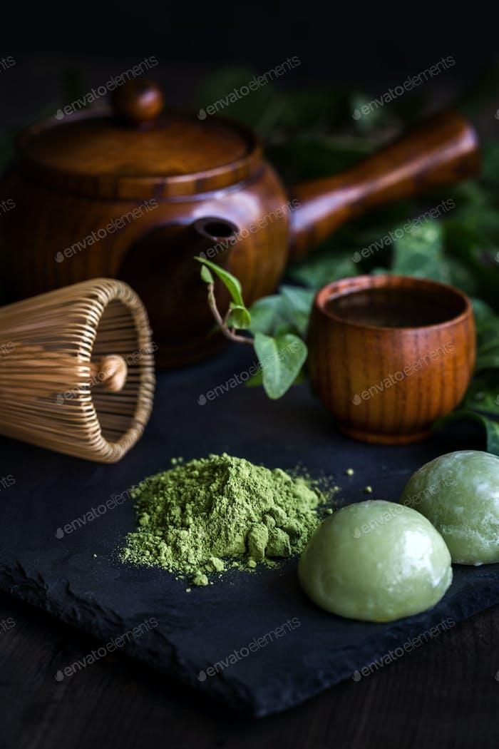 Japanischer Tee Matcha