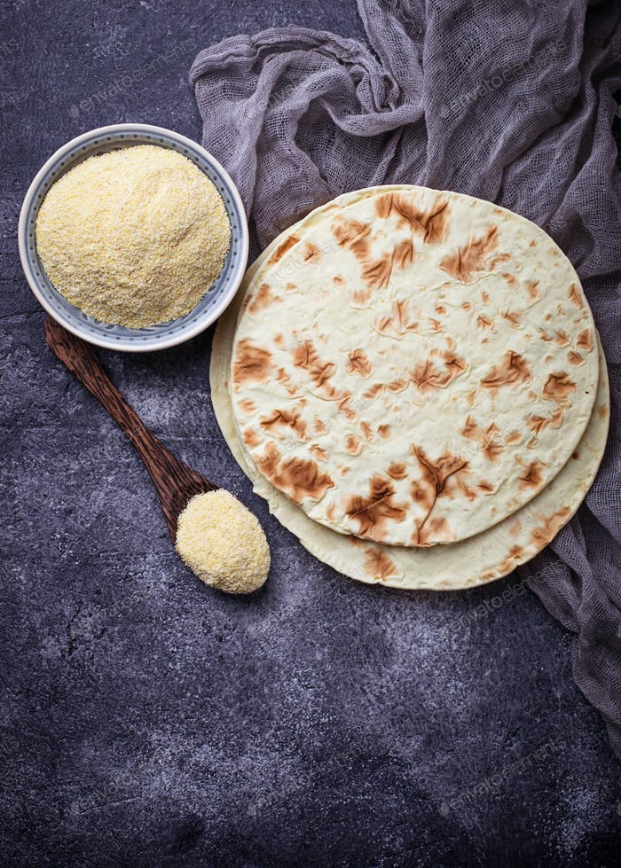 Mexican tortillas and corn flour