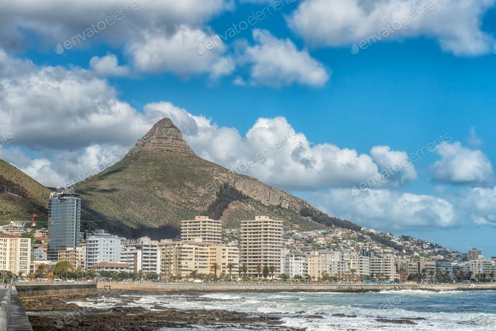 Sea Point in Cape Town in the Western Cape Province